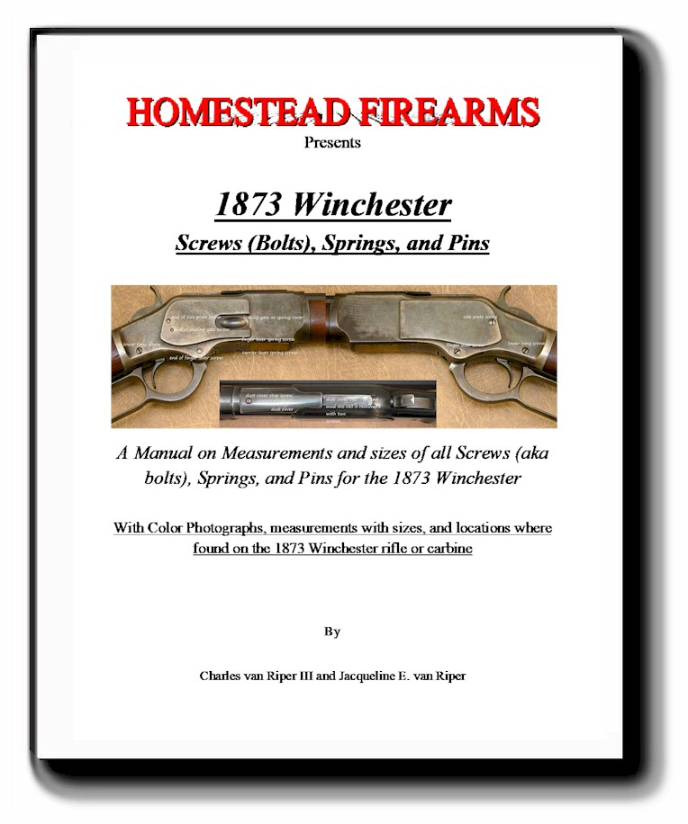 COMING SOON!  1873 Winchester Screws, Bolts, Springs and Pins  COMING SOON!