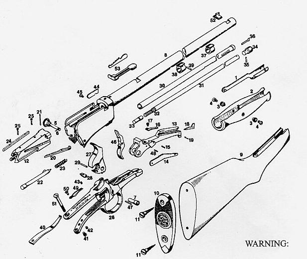 winchester model 97 schematic  winchester  get free image